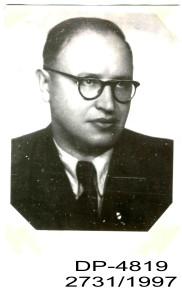 Portrét Jána Cibuľu (18. 1. 1909 – 31. 1. 1949) Poštové múzeum Banská Bystrica