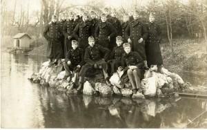 Kadetská skupina Gylu Csesznáka na vojenskej akadémii v Budapešti