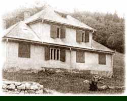 Administratívna budova, dnes chata.