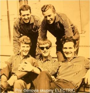 The Elelektric  foto                    Ivan Koreň,   Viliam Šopoň Maximilián Kovalčík,  Jozef Mistrík,   František Bureš