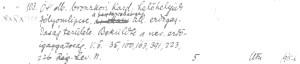 Klasifikačný list Ondreja Smidu z roku 1914