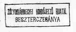 Úradná pečiatka ciachovacieho úradu pre sudy v Banskej Bystrici